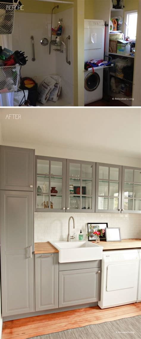 timeless kitchen cabinet colors timeless ikea grey laundry before and after butcher block 6244