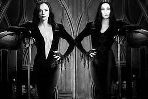 Christina Ricci 'dressed as Morticia Addams' sends ...