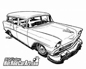ford hot rod clip art cliparts With 1955 ford f100 red