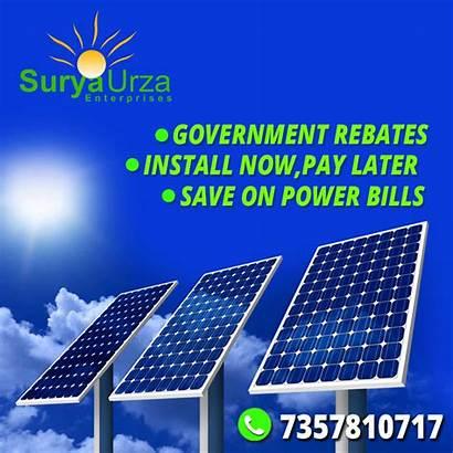 Solar Power Plants Advertisement