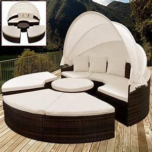 rattan day bed garden outdoor lounge patio wicker With katzennetz balkon mit aluminium rattan garden furniture