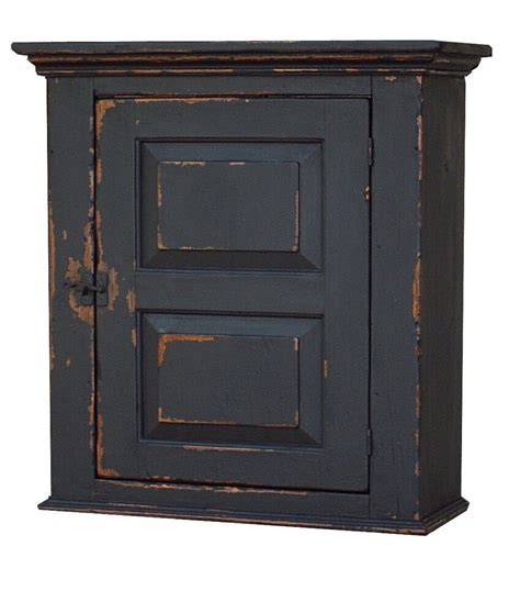 Wall Cabinet by Early American Wall Cabinet Primitive Painted Country