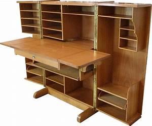 Meuble Bureau Rangement : meuble de rangement convertible en bureau produit par ~ Melissatoandfro.com Idées de Décoration