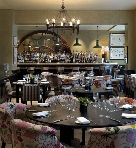 covent garden hotel firmdale clubs meal in a design hotel