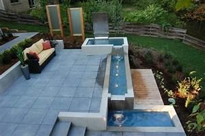 fontaine de jardin pour une deco exterieure magique With fontaine de jardin moderne