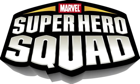 Marvel Super Hero Squad Logo Design, Branding, Package