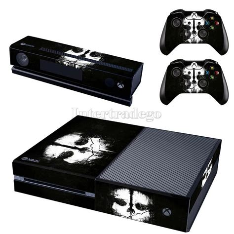 Cool Ghost Game Skin Sticker For Xbox One And Kinect And 2