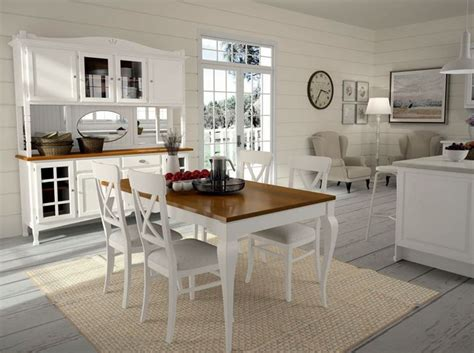 Cucina Shabby Chic by Cucina Shabby Chic Intramontabile E D Effetto Cucine