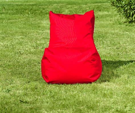 Poltrona Sacco Seat Rossa