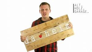 Holz Künstlich Alt Machen : die alt holz garage stellt sich vor youtube ~ Markanthonyermac.com Haus und Dekorationen