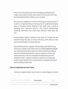 the ultimate guide to tradeshow lead generation With thank you letter for visiting trade show booth