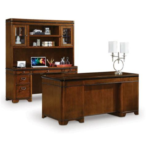 desk and hutch set kensington desk credenza and hutch set 8801995