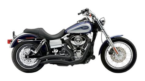 Cobra Speedster Short Swept Exhaust For Harley Dyna 2012