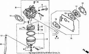 Honda Wn30 Ax1 Water Pump  Jpn  Vin  Wzbw