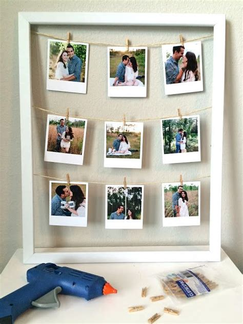 Diy Bedroom Gifts by Diy Clothesline Picture Frame The Everyday Aesthetic