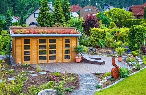 Garten Gestalten Mit Gartenhaus by Gartenhaus Gestalten My