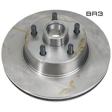 Raybestos Mustang Disc Brake Rotor Front Stock 1970-1973