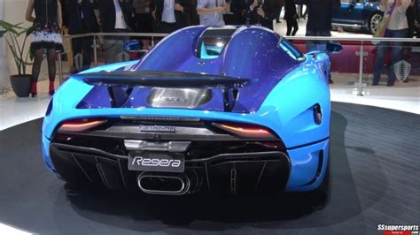 2 Swedish Blue Koenigsegg Regera Delegance At The2018