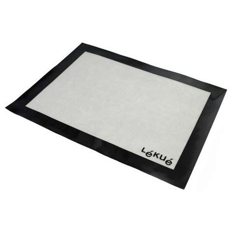 tapis de cuisson silicone et fibre de verre lekue maspatule