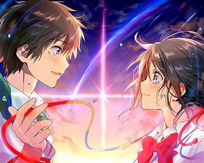 Taki Kimi Na Wa Mitsuha Anime Fondo