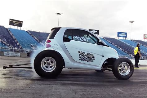 Watch This Smart Car Run The Quarter Mile Seconds