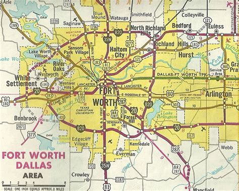 fort worth neighborhood map pictures to pin on pinterest