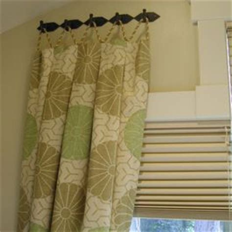 a different way to hang curtains ideas for home