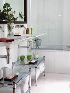 creative storage idea for a small bathroom modern world With 7 creative ideas for bathroom towel storage