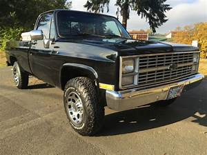 1983 Chevy K20 3  4 Ton 4x4 Super Clean Chevy Truck  Crate