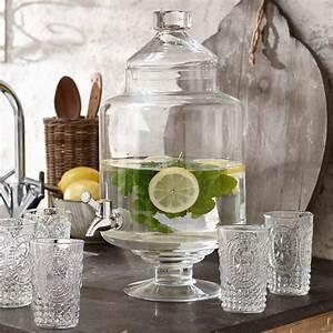 Getränkespender Glas Mit Zapfhahn : getr nkespender cassis loberon ~ Markanthonyermac.com Haus und Dekorationen