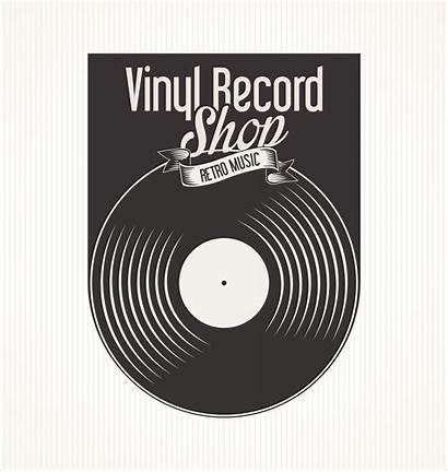 Vinyl Record Banner Vector Retro Clipart Vecteezy