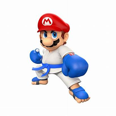 Mario Sonic Games Olympic Tokyo Characters Renders