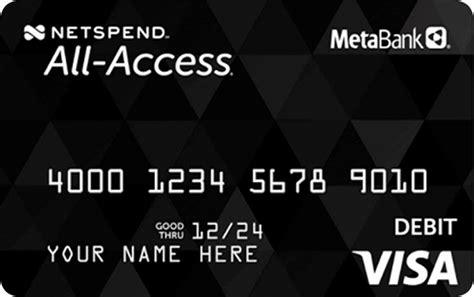 access visa prepaid debit card   prepaid