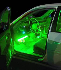 Neon Lighting Tubes Undercar Interior Car Bike