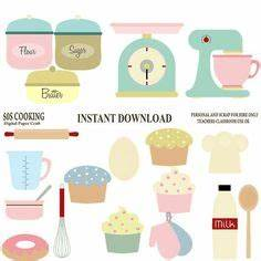 stand mixer kitchen clip art for digital scrapbooking or With what kind of paint to use on kitchen cabinets for personal planner stickers