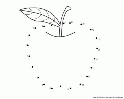 apple dot to dot ot pre writing scissor skill