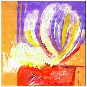 Toile Peinture Pas Cher : toile abstraite ola ~ Mglfilm.com Idées de Décoration