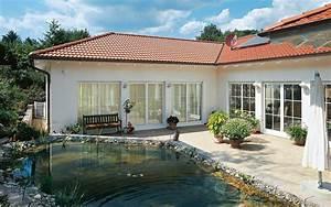 Luxus Bungalow Bauen : luxus fertighaus villa ~ Lizthompson.info Haus und Dekorationen