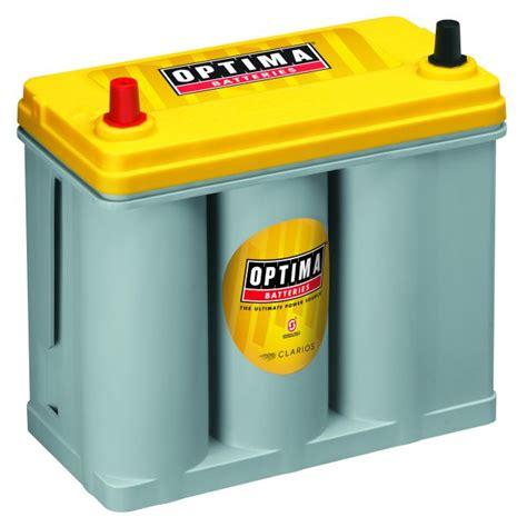 Optima Yellowtop Agm Spiralcell Dual Purpose Battery
