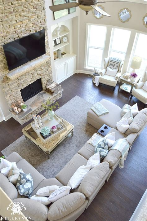 two sofa living room cool tone spring ready living room tour kelley nan
