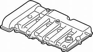 Mazda Protege Engine Valve Cover  1 8 Liter  2 0 Liter