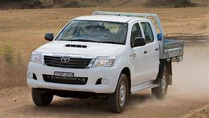 2014 Toyota Hilux 4x4 Sr Double Cab Chassis Auto