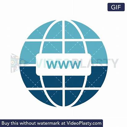 Internet Web Wide Icon Animated Animation Gifs