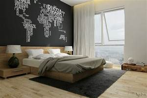 idee deco chambre mur With deco mur chambre adulte