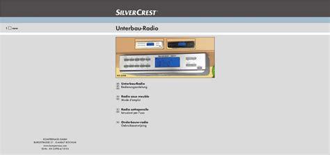 cabinet de recrutement mode mode d emploi silvercrest kh 2398 cabinet radio trouver une solution 224 un probl 232 me