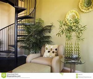 Model Home Interior Design Royalty Free Stock Photo