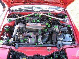 1990 Toyota Celica Engine Diagram