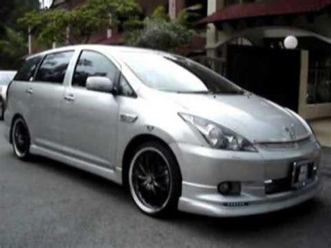 Toyota Modification by Toyota Wish Car Modification