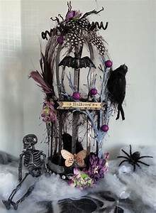 Shelbydoodle Designs  Spooktacular Gothic Birdcage
