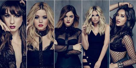 as atrizes de pretty liars contam o futuro de suas